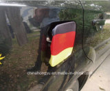 Soccer Fan Flag Car Fuel Cap Cover Gas Cap Cover
