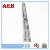2017 Furniture Customized Cold Rolled Steel Three Knots Linear for Aeb3504-450mm Full Extension Soft-Closing Drawer Slide