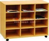 2015 Kids Furniture Wooden Bookshelf Magazine Rack (SF-01W)