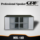 Grf PRO Audio Dance Stack Professional Speaker (MBL-18D)