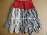 Cotton Drill Polka Dots Glove (XWD8)