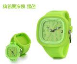 Customized Logo Interchangable Japan Movement Silicone Quartz Jelly Watch