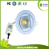 Price Rotatable LED Downlight COB with CE/RoHS/SAA Approved