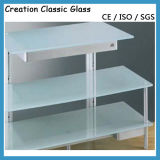 Decorate Frosted Glass /Acid Etched Glass for Decorative Glass/Building Glass