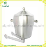 Hotel Stainless Steel Double Layer Durable Ice Bucket