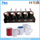 Ce Approved Low Price Mug Heat Press with Combo 5 in 1 Fast Speed