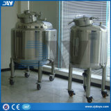 Stainless Steel Vertical Milk Beverage Beer Sealed Storage Tanks (CE)