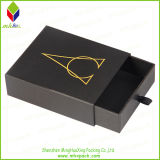 Gold Foil Stamping Drawer Packaging Jewelry Box for Wholesale