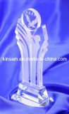 Ornament Customized Crystal Trophy and Glass Award for Promotional Gift