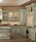 Customized White Solid Wood Free Simple Kitchen Furniture