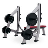 Commercial Fitness Equipment Olympic Flat Bench Storage Xf28