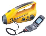 Dynamo Solar Flashlight, Torch Radio (XLN-288DS)