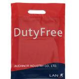 Custom Design Logo Printing Cheap Biodegradable Die Cut Plastic Shopping Bag