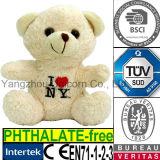 Soft Stuffed I Love New York Teddy Bear Plush Toy