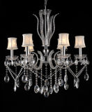 High Class Decorative Wholesale Crystal Chandelier (7500-6L)
