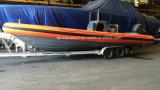 Aqualand 30feet 9m Rib Patrol Boat/Fiberglass Rigid Inflatable Boat/Military Rescue/Patrol/Diving Boat (RIB900B)