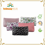 Women′s Waterproof Cosmetic Coin Cellphone Makeup Cloth Pouch Bag Purse Case