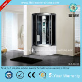 Tempered Glass Steam Massage Shower Room Round Shower Cabin (BLS-9825A)