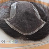 Black Hair Full Handtied Full Hair Piece