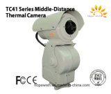 Tc41 Series Middle-Distance Thermal Camera with 336X256 Resolution &300m~3km Detection Distance