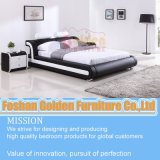 Soft Bedroom Bed with Adjust Headboard
