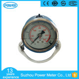 50mm Back Thread Type Liquid Filled Pressure Gauge with Butterfly Clamp