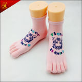 Custom 5 Toes Socks with Logo