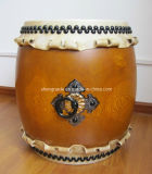 One Piece Wood Taiko Drum