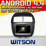 Witson Android 44 System Car DVD for Citroen New C4 (W2-A7064)