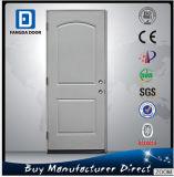 Prehung 2 Panel Top Arch Exterior Iron Steel Door Slab
