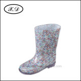 Fashion Rain PVC Boots for Children (BX-016)