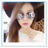 Wholesale Fashion Accessories Polygon Color Film Metal Sunglasses
