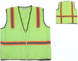 Knitted Safety Work Vest for Construction/Roadway/Police