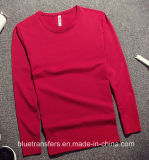 Polyester Men′s Long Sleeve T-Shirts in 4 Colors