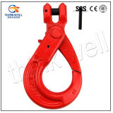 Forged Alloy Steel G80 Clevis Self Locking Hook