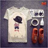 Fashion Sexy Printed T Shirt for Women (W272)