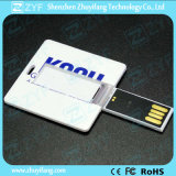 Full Color Print Square Business Card USB Drive (ZYF1221)