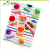 Tissue Paper Honeycomb Ball Seating Card
