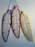 Feather Shaped Pedestrian Safety Reflector for Bag Accessories