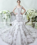 Crystals Wedding Dress Ball Gown Bridal Wedding Gown LD11534