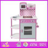 2014 Kids Toy Wooden Klitchen Cookin Set, Play Wooden Toy Kitchen for Children, Hot Sale Cute Wooden Toy Kitchen for Baby W10c074b