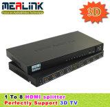 3D HDMI Splitter 1X8 (1080P, YL0108)