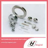 Super Power Customized N35- N52 Ring Neodymium Permanent Magnet Certified by ISO14001