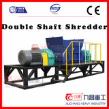 Glass Bottle Wood Crusher with Teethed Shredder