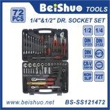 72PC 1/4′′ & 1/2′′ Socket Set