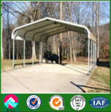 Different Styles Prefabricated Steel Structure Car Shed