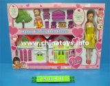 Education Toys Educational Girl Doll House Furniture Set Toy, My Happy Family (796901)
