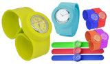 Adjustable Waterproof Kids Quartz Silicone Slap Wrist Watch