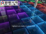 DMX 3D Mirror LED Portable Dance Floor for Disco DJ Bar Party Event Light