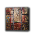 8 Panels with Connections Oil Painting (ADA9065)